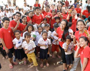 29 Visit to Tuolvihear School in Kampong Cham Province