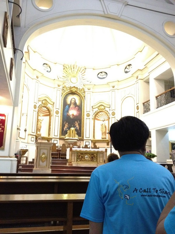 ACTs PH - 6am mass daily at Shrine of the Sacred Heart