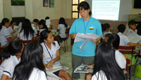 ACTs PH - Job search class with LVTC yr1 girls