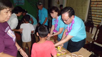 ACTs PH - snacks for kids n moms Canlubang Oratories 2