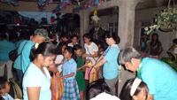 ACTs PH - snacks for kids n moms at Canlubang oratories 1