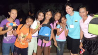 ACTs PH - vicunans with their new school bags and goodies