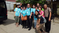 ACTs PH -visit to Montalban with ICPE Esther Fong