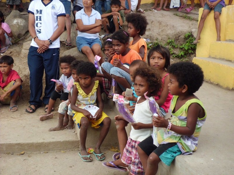 Aetas children closeup